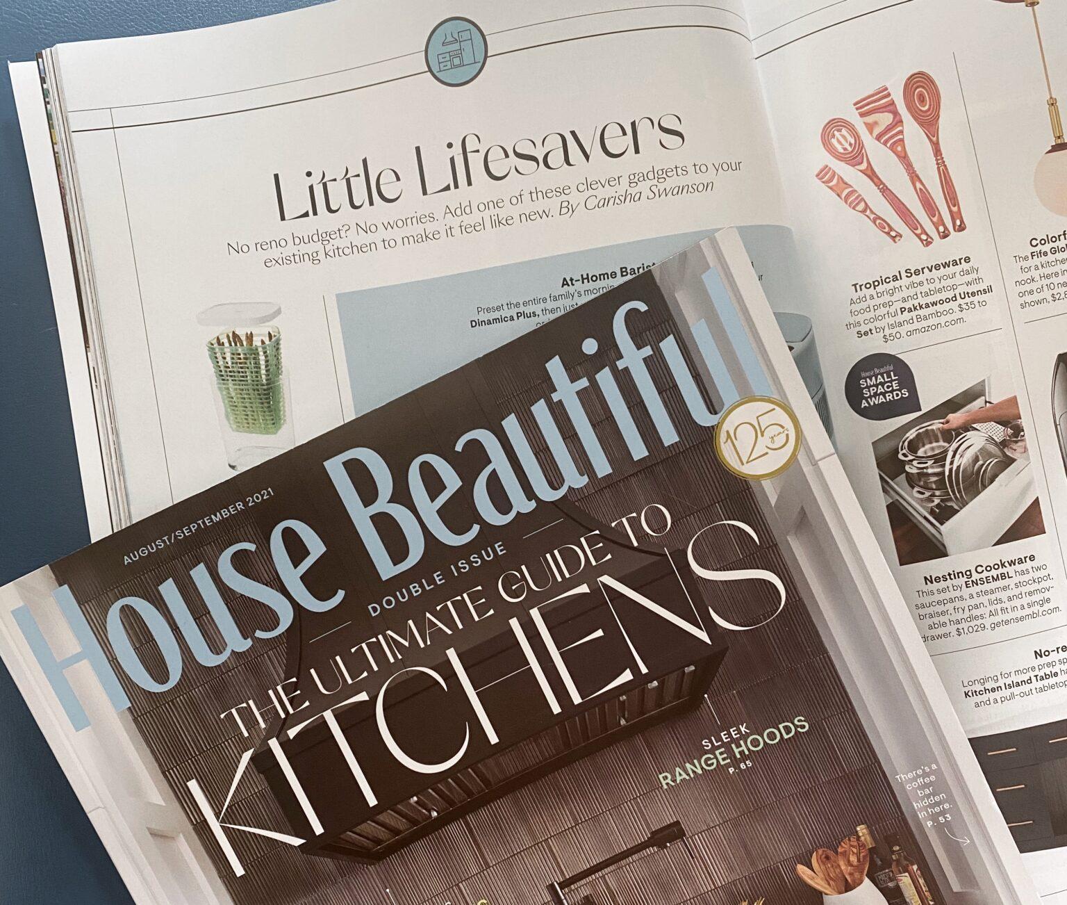 House beautiful magazine kitchens