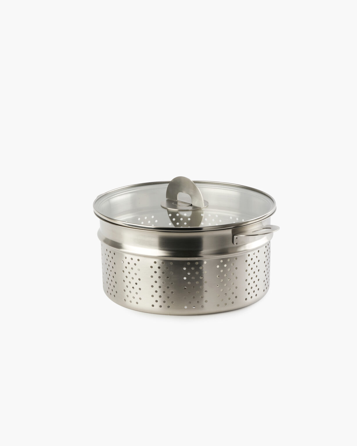 ENSEMBL Stackware Stainless Steel Fully Clad Cookware Steamer Colander