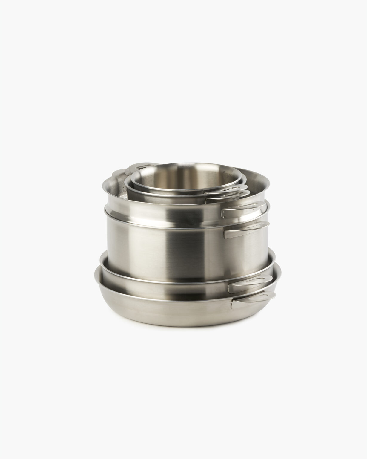 ENSEMBL Stackware Full6 Stainless Steel Fully Clad Cookware