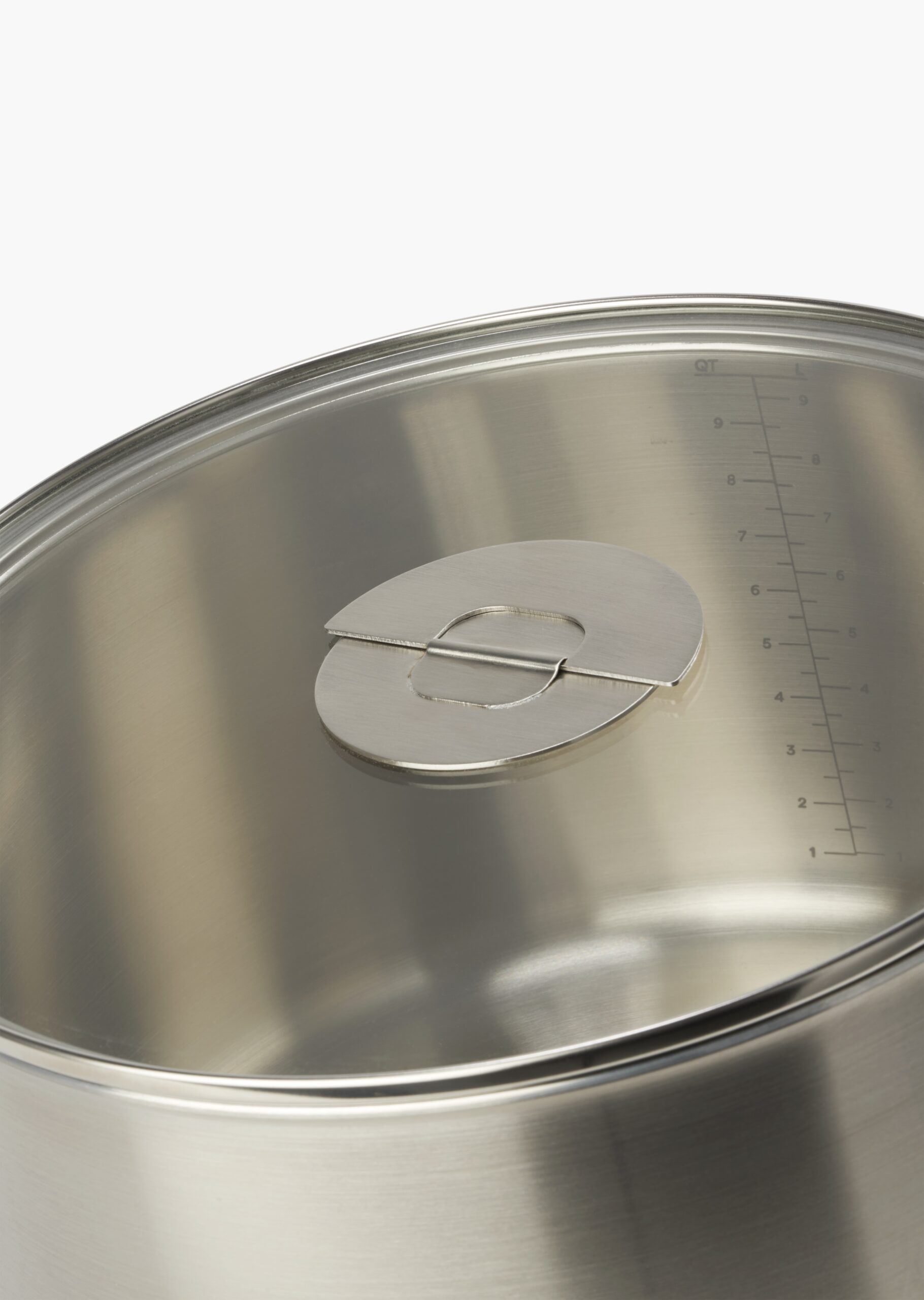 ENSEMBL Stackware Stainless Steel Fully Clad Cookware Metric Imperial Measurements