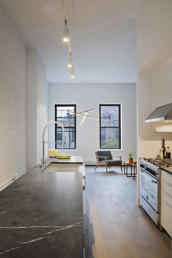 NYC apartment interior MABU architecture