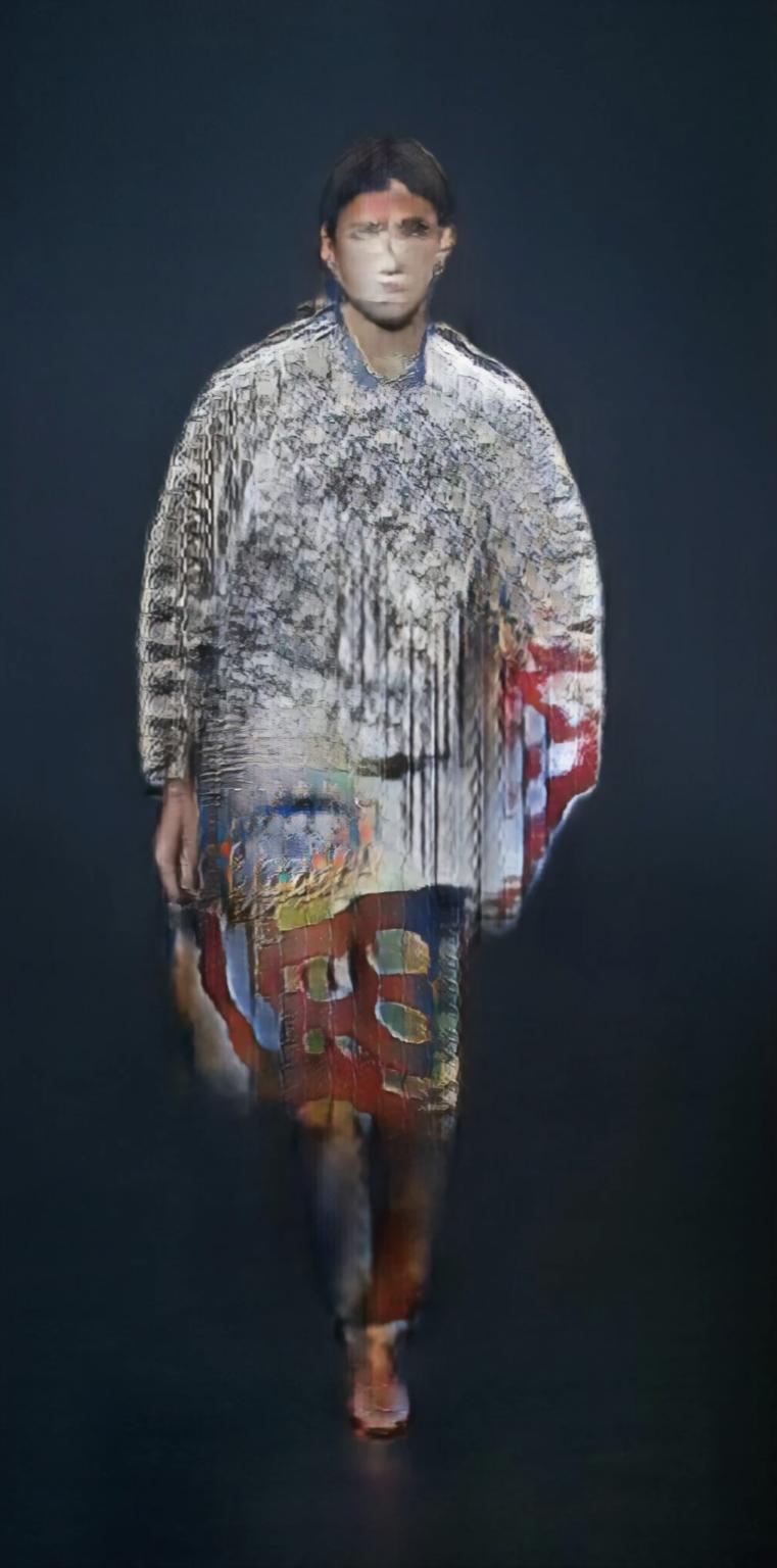 Robbie Barrat Balenciaga AI Fashion