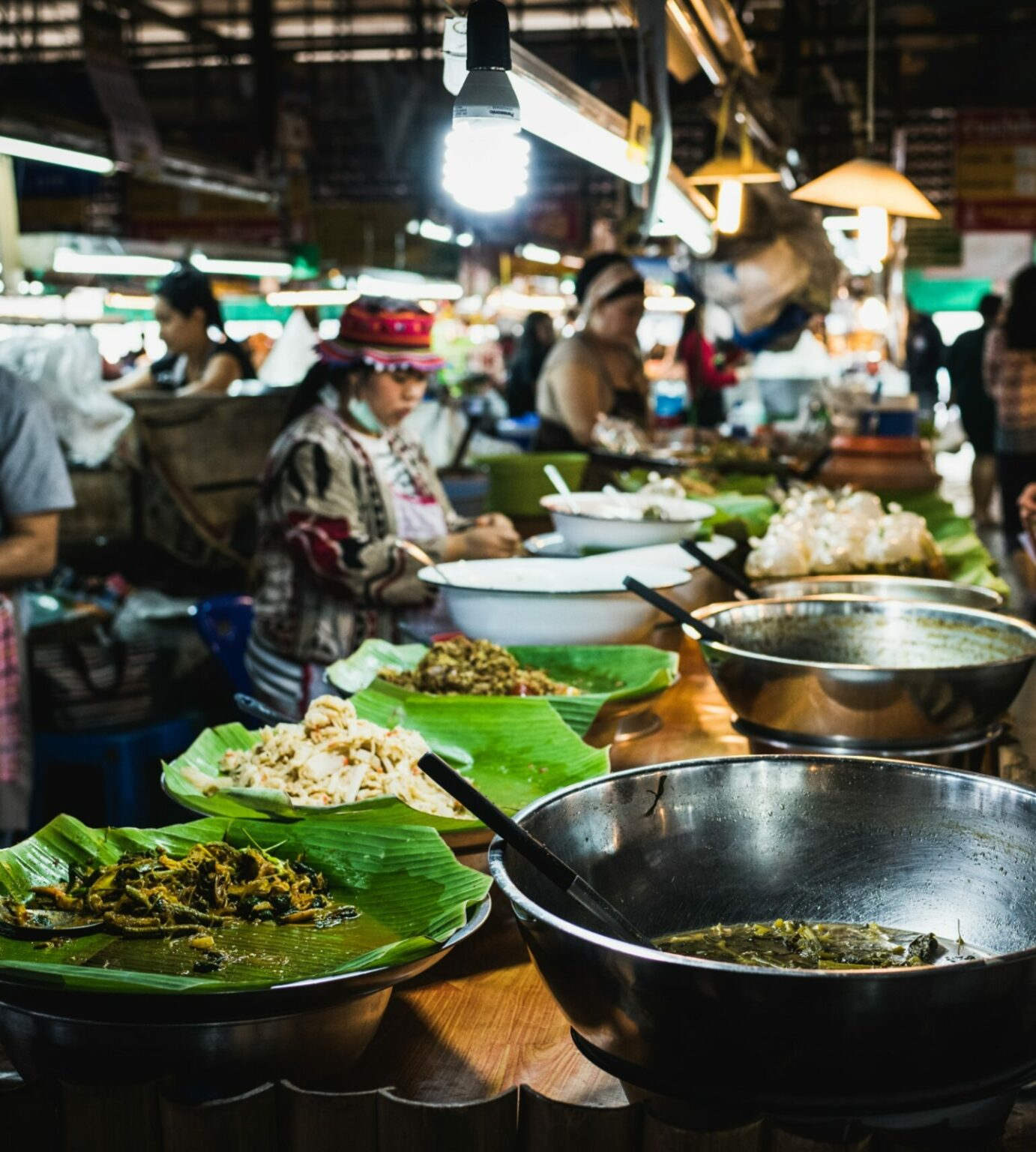 Chiang Mai Thailand street food night market