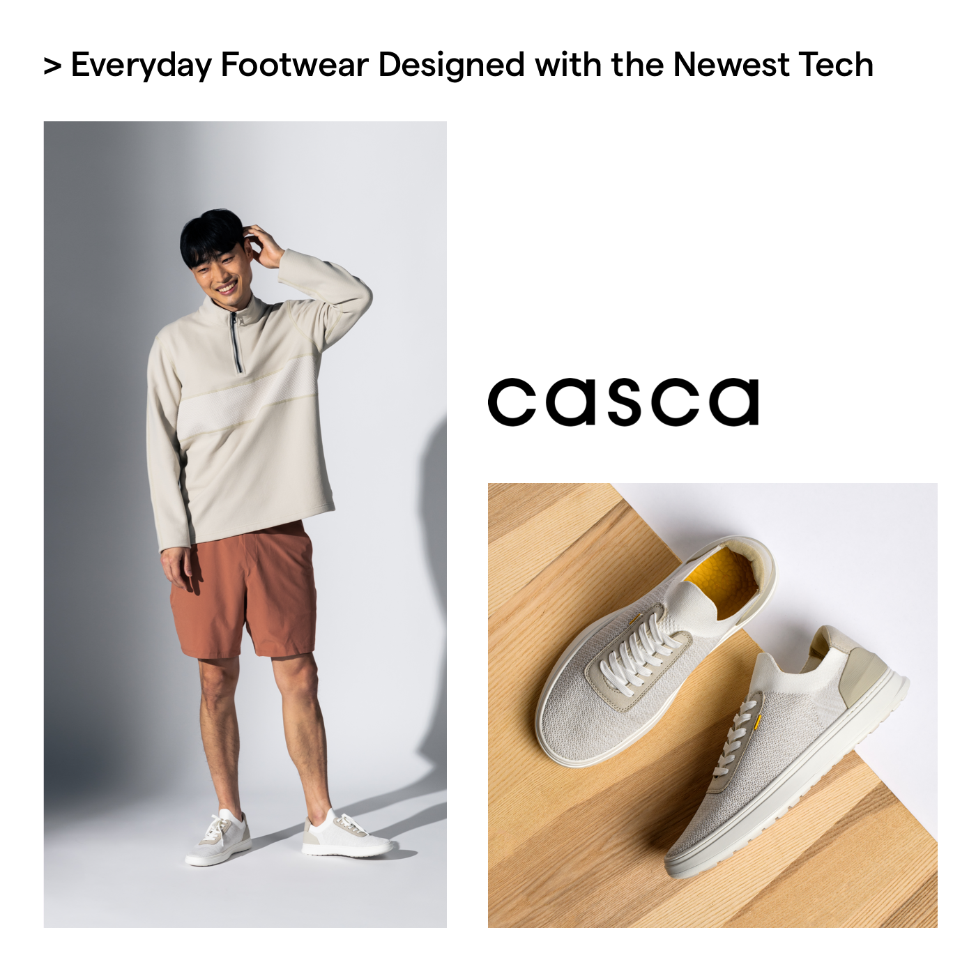 Casca shoes design forward father's day gift guide