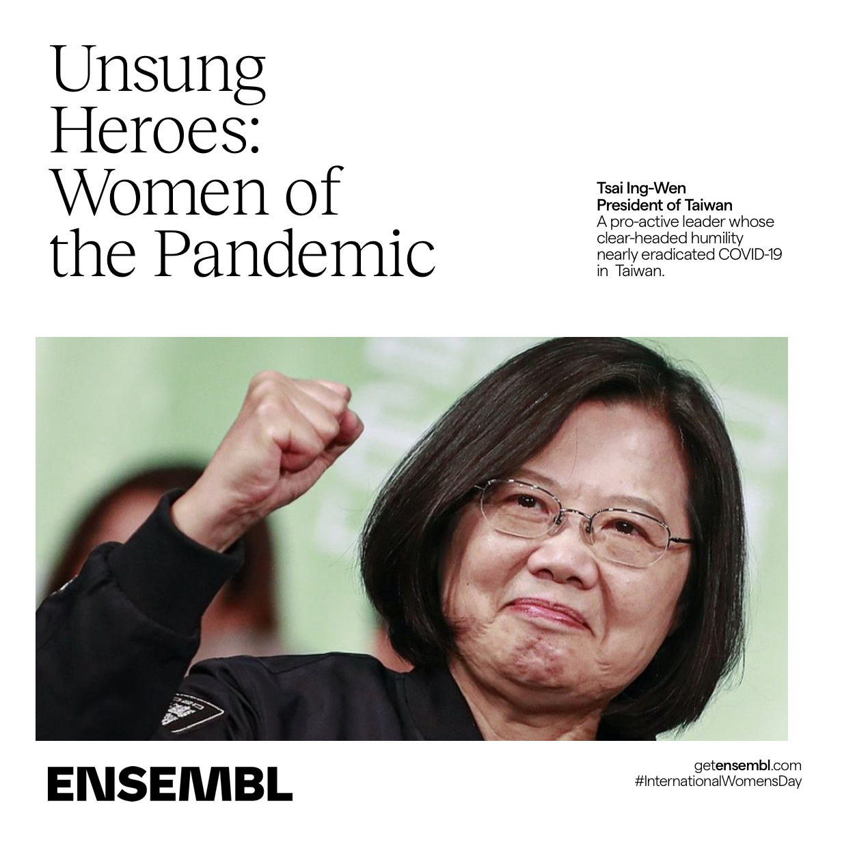 International Women's Day President Tsai Ing-Wen of Taiwan