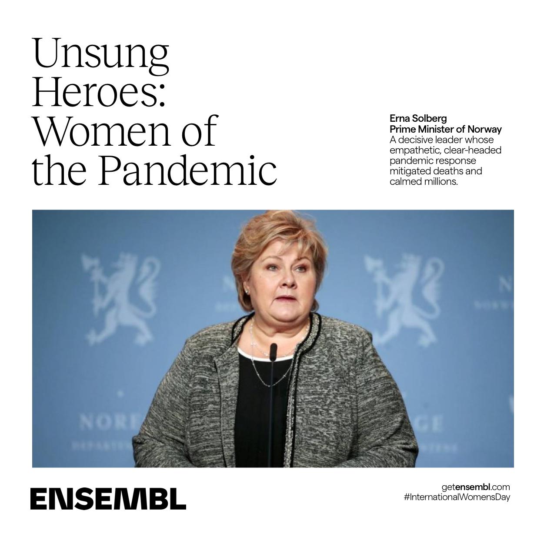 International Women's Day President Erma Solberg of Sweden