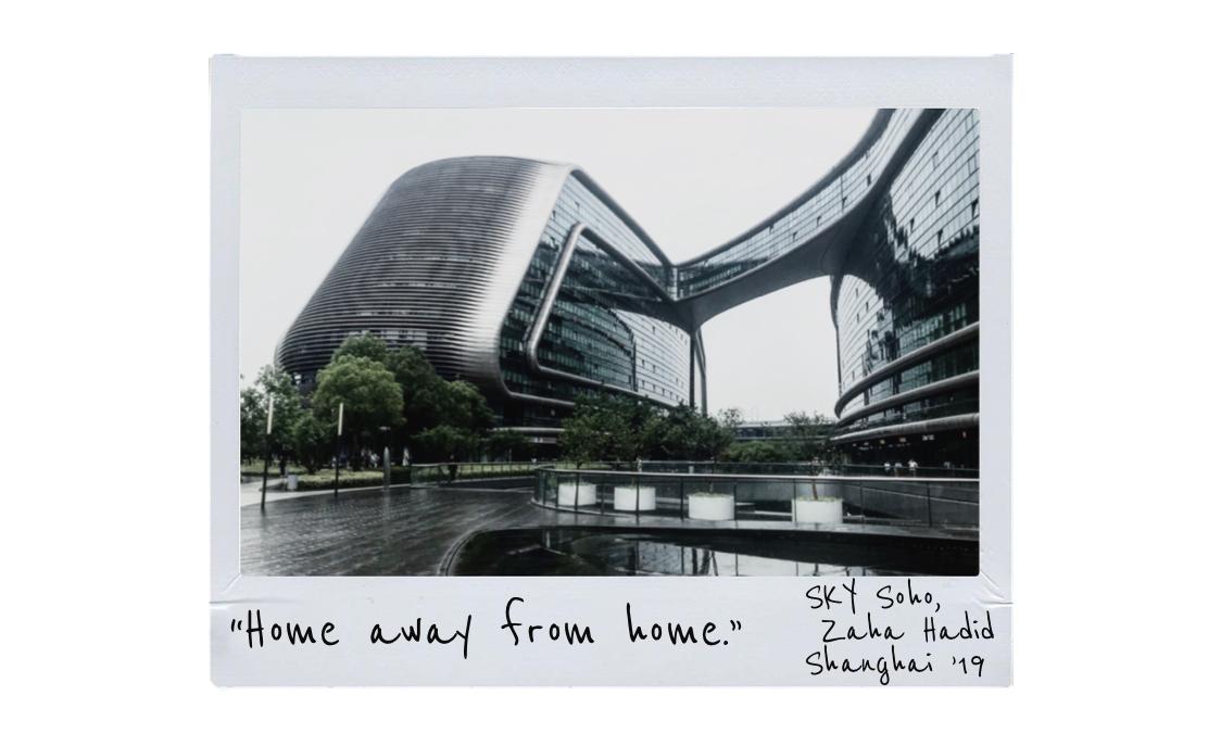 SKY Soho building by Zaha Hadid in Shanghai
