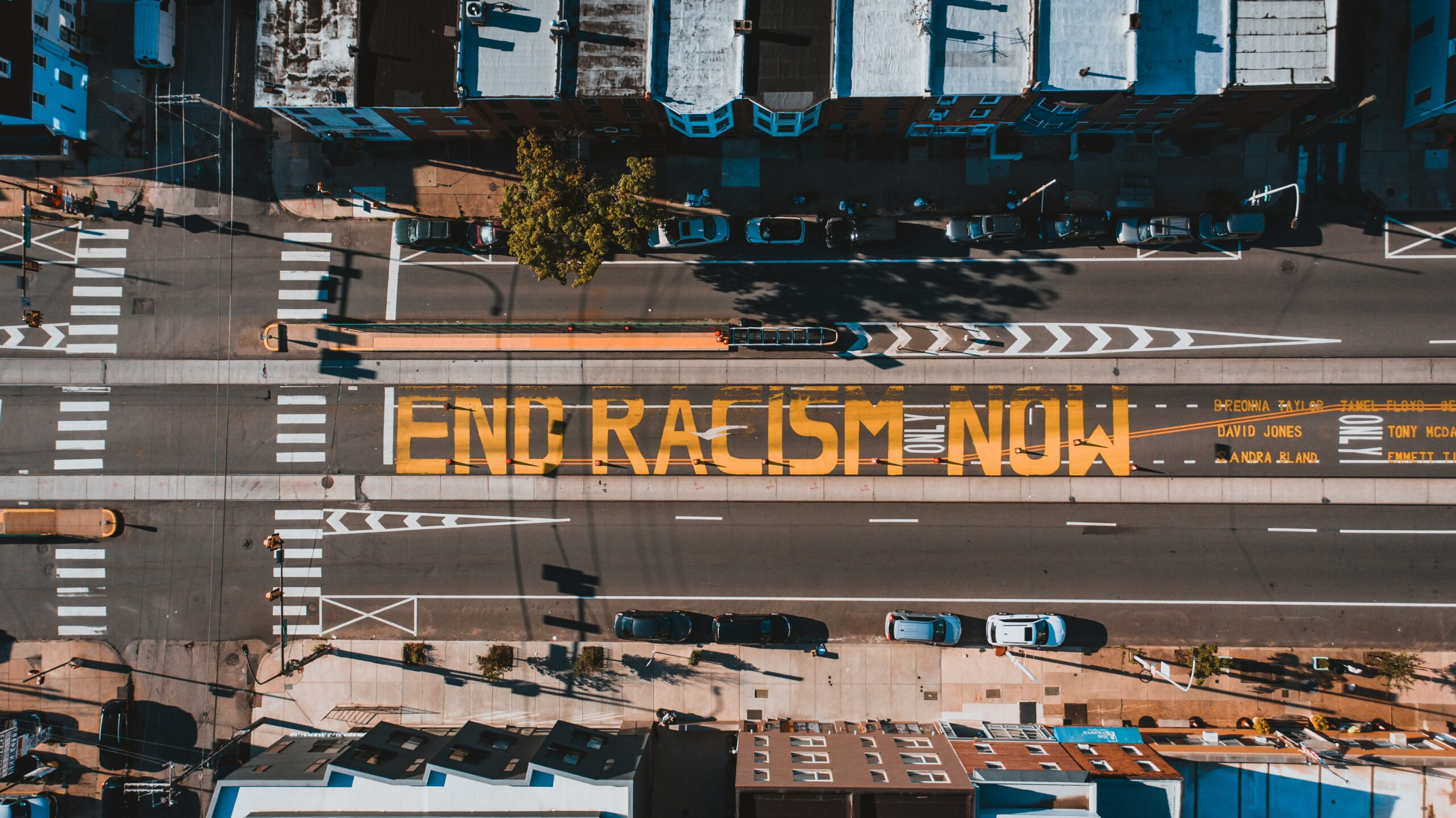 End Racism Now Mural